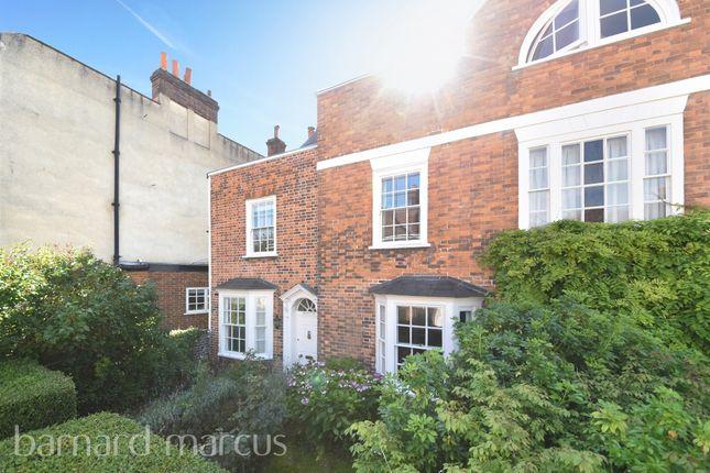 Thumbnail Semi-detached house for sale in Church Street, Ewell, Epsom