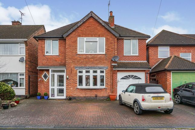 Thumbnail Detached house for sale in Balmoral Drive, Bramcote, Nottingham