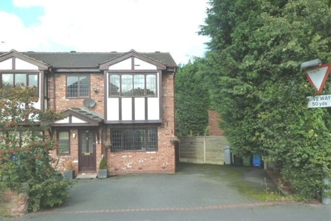Thumbnail Semi-detached house to rent in Hermitage Road, Hale, Altrincham