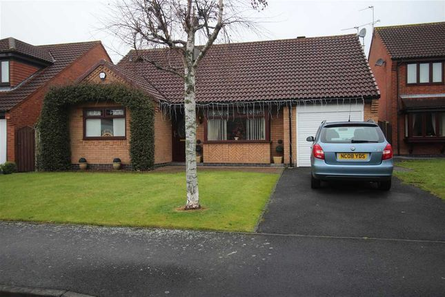 Thumbnail Bungalow for sale in Crofters Close, Annitsford, Cramlington