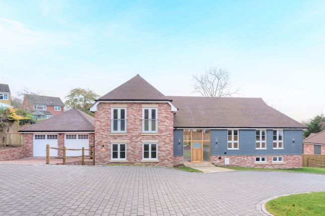 Thumbnail Detached house for sale in The Glen, Pamber Heath