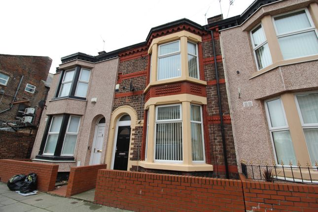 Thumbnail Terraced house to rent in Shelley Street, Liverpool, Merseyside