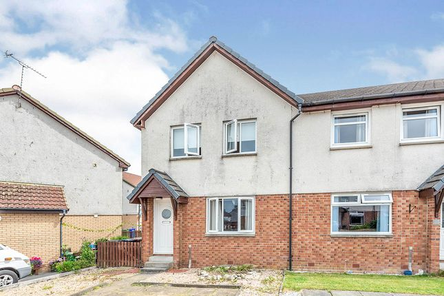 Thumbnail End terrace house for sale in Roundhouse, Cowie, Stirling, Stirlingshire
