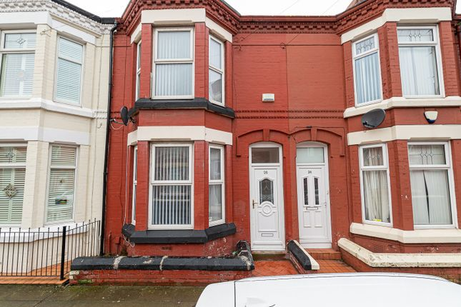 Thumbnail Terraced house to rent in Silverdale Avenue, Liverpool