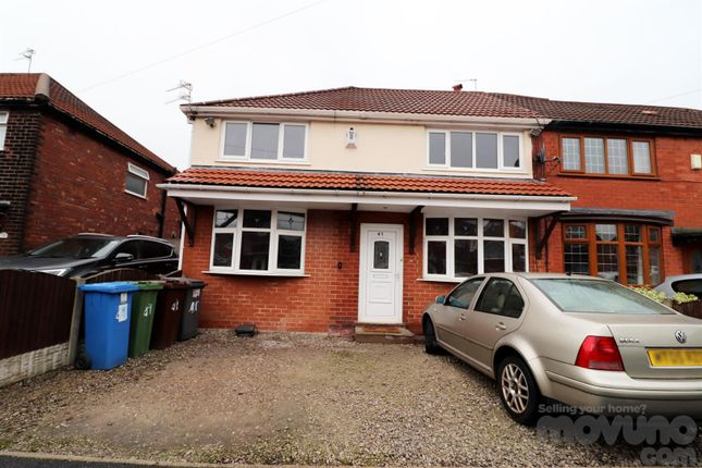 Thumbnail Semi-detached house for sale in Marina Road, Droylsden, Manchester