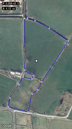 Boundary Plan of Approx 4 Acres Land, Ballaglonney, Ronague Road, Ballabeg IM9