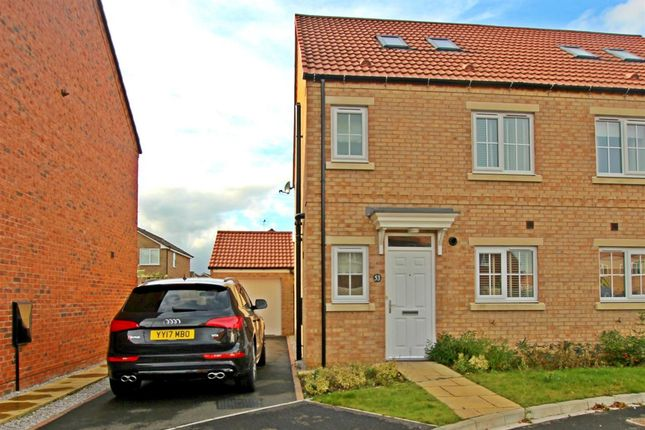 Thumbnail Semi-detached house to rent in Dairy Way, Norton, Malton