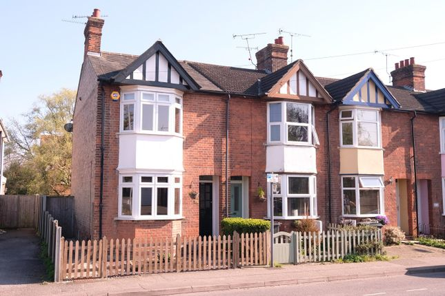 Thumbnail End terrace house for sale in Springfield Road, Chelmsford