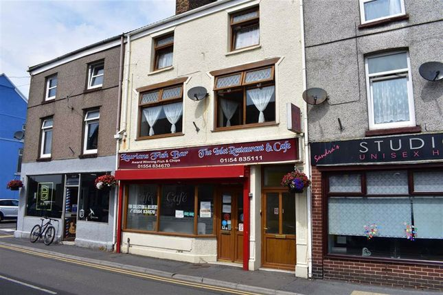 Thumbnail Restaurant/cafe for sale in Station Road, Burry Port