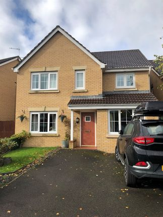 Thumbnail Detached house for sale in Pwll Yr Allt, Tir-Y-Berth, Hengoed