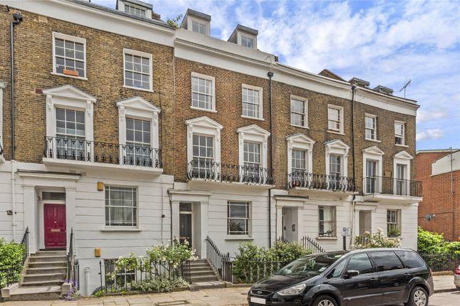 Exterior of Stratford Villas, Camden, London NW1