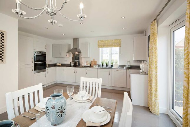 """Typical Kitchen of """"The Attingham"""" at Isemill Road, Burton Latimer, Kettering NN15"""