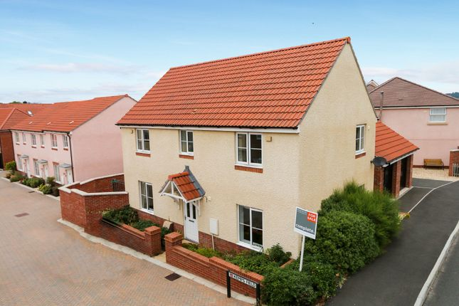 Thumbnail Detached house for sale in Kemps Field, Cranbrook, Exeter