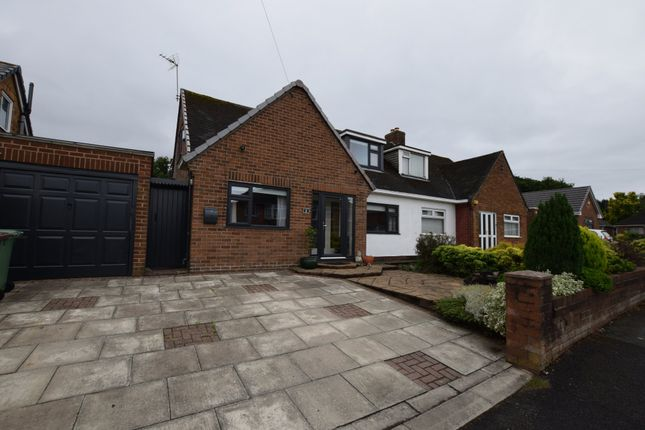 Thumbnail Semi-detached bungalow for sale in Sandfield Road, Eccleston, St. Helens