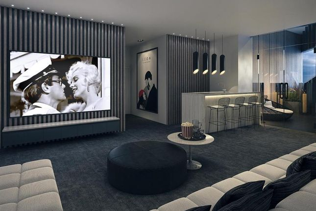 Cinema Room of The Madison, Marsh Wall, Carney Wharf, London E14