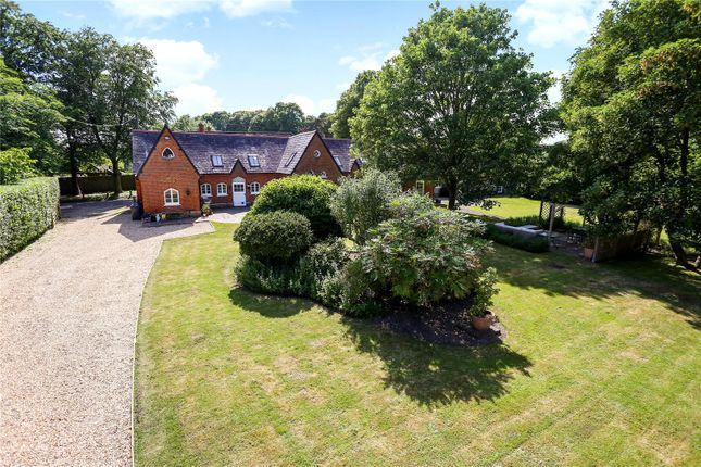Thumbnail Detached house for sale in Dippenhall, Farnham, Surrey