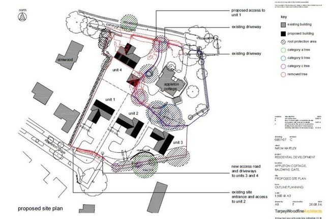 Thumbnail Land for sale in Plot 2, Appleton Drive, Whitmore, Newcastle, Staffordshire