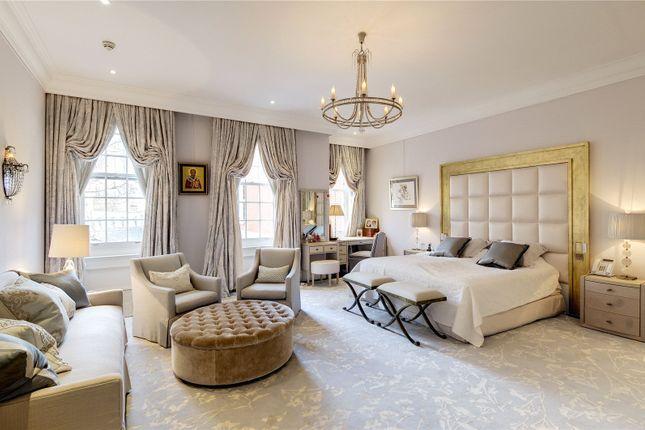 Master Bedroom of Lygon Place, Belgravia, London SW1W