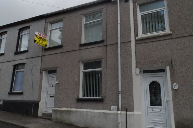 Thumbnail Terraced house to rent in Garn Terrace, Waunlwyd, Ebbw Vale