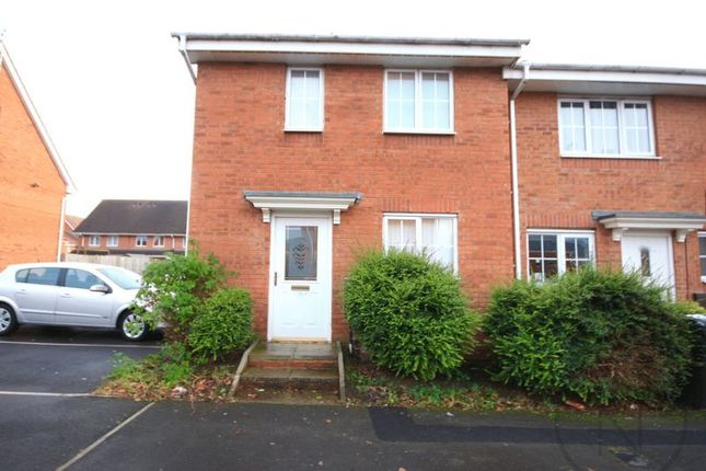 Thumbnail End terrace house to rent in Moorfield Close, Darlington