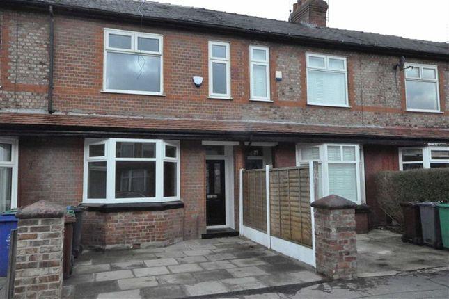 Thumbnail Terraced house for sale in Kensington Road, Chorlton Cum Hardy, Manchester
