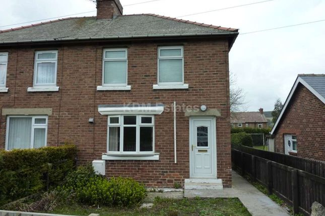 Thumbnail Semi-detached house to rent in Finings Avenue, Langley Park, Durham