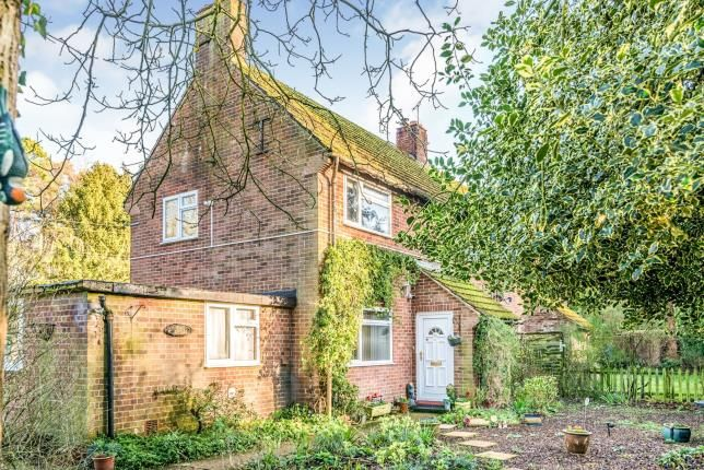 Thumbnail Semi-detached house for sale in Hilborough, Thetford, Norfolk