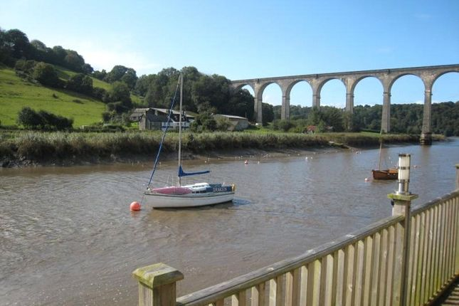 River Side of The Riverside, The Quay, Calstock, Cornwall PL18