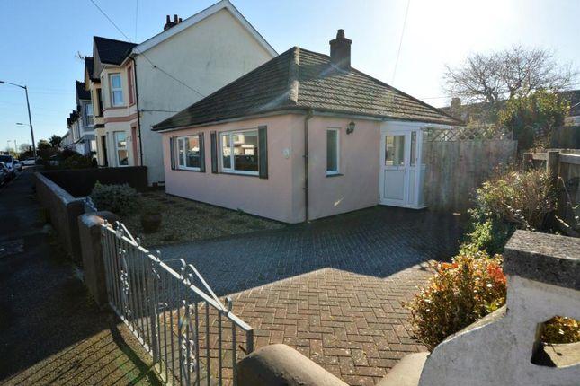 Thumbnail Detached bungalow for sale in Longview Road, Saltash, Cornwall