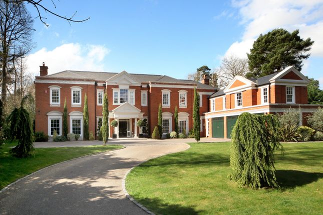 Thumbnail Detached house for sale in South Road, St. Georges Hill, Weybridge