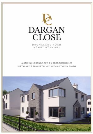 Thumbnail Property for sale in Dargan Close, Drumalane Road, Newry