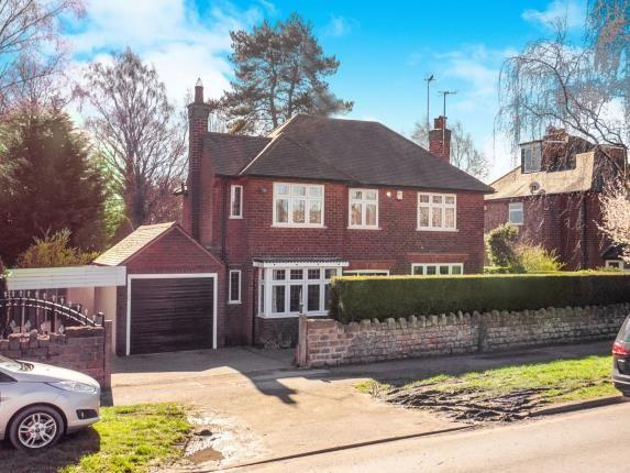 Thumbnail Detached house for sale in Bramcote Lane, Wollaton, Nottingham, Nottinghamshire