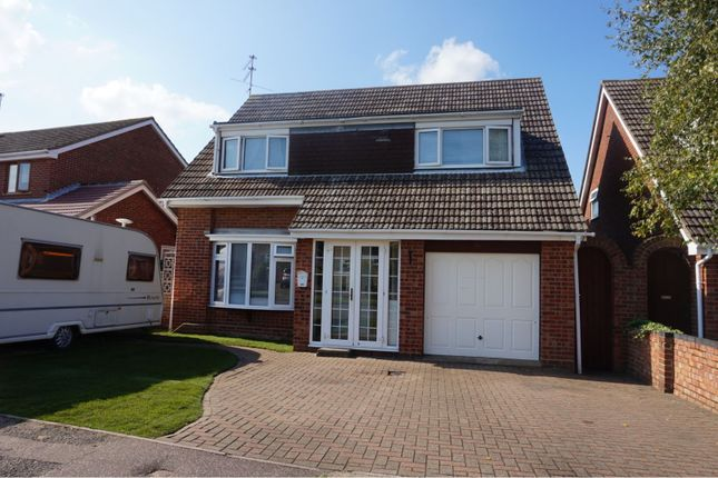 Thumbnail Detached house for sale in Wren Drive, Bradwell, Great Yarmouth