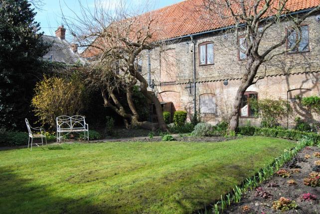 Garden of Nelson Street, Kings Lynn, Norfolk PE30