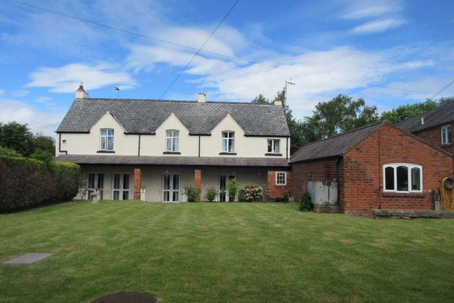 Thumbnail Detached house for sale in Hullah Farm, Abenbury, Cefn Road, Wrexham, Clwyd