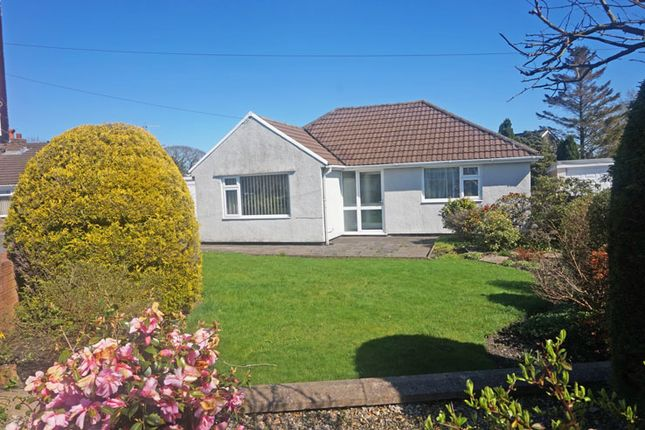 Thumbnail Detached bungalow for sale in Julians Close, Gelligaer