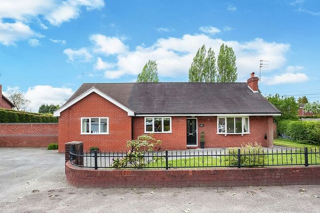 Thumbnail Detached bungalow for sale in Moss Road, Congleton