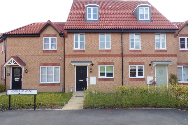 Thumbnail Town house for sale in Woodland Avenue, Colburn, Catterick Garrison