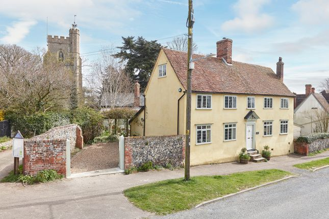 Thumbnail Detached house for sale in North Street, Hundon, Suffolk