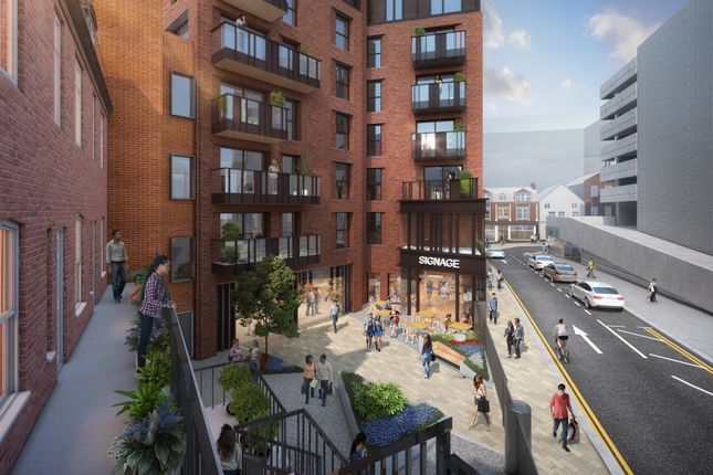Thumbnail Flat for sale in Burgess House, City Centre