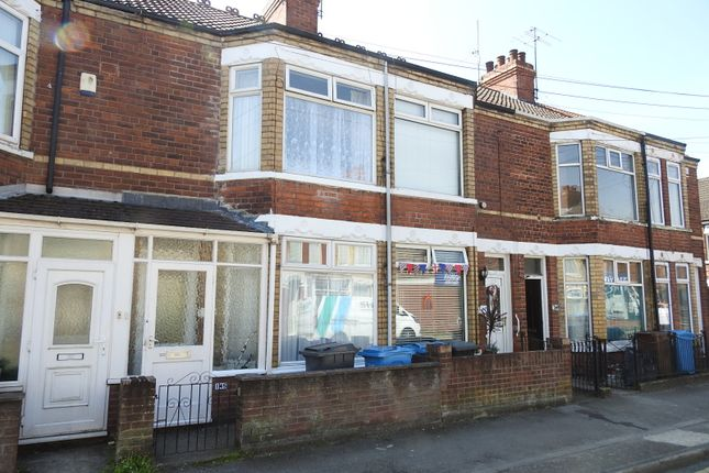Thumbnail Terraced house to rent in Wharncliffe Street, Hull