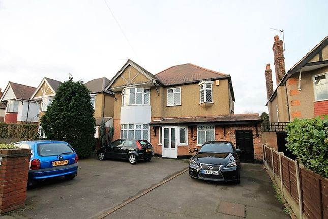 Thumbnail Detached house to rent in Squirrels Heath Road, Romford