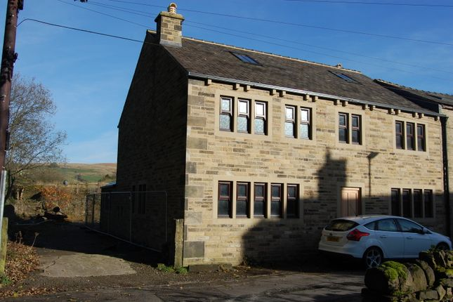 Thumbnail End terrace house for sale in Lane Bottom, Newhey Rochdale