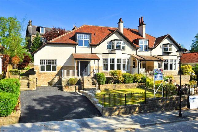 Thumbnail Semi-detached house for sale in Brunswick Drive, Harrogate, North Yorkshire