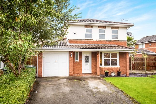Thumbnail Detached house for sale in Kinnerton Close, Moreton, Wirral