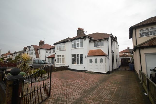 Thumbnail Semi-detached house for sale in Grosvenor Court, Queens Drive, Wavertree, Liverpool