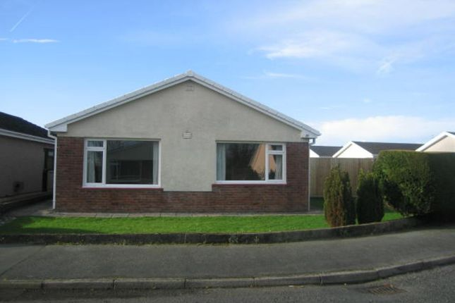 Thumbnail Detached bungalow to rent in Lindsway Park, Haverfordwest