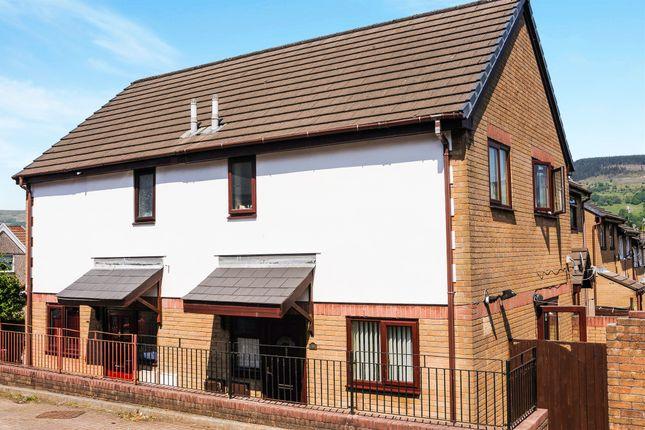 Thumbnail End terrace house for sale in Glamorgan Court, Aberaman, Aberdare