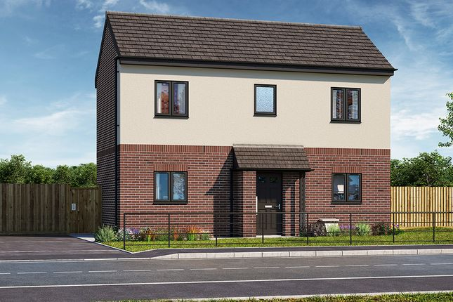 "Thumbnail Property for sale in ""The Weston"" at Brook Park East Road, Shirebrook, Mansfield"