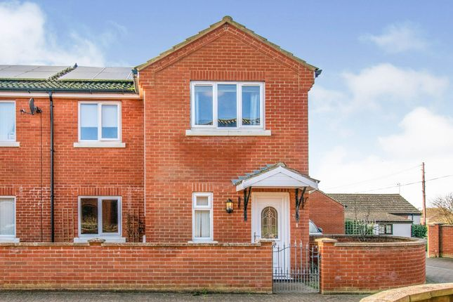 3 bed semi-detached house for sale in James Gray Close, Winterton-On-Sea, Great Yarmouth NR29